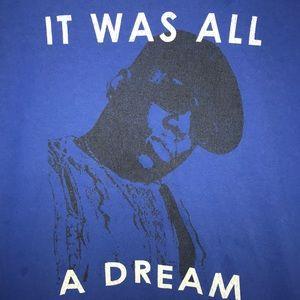 "Biggie Smalls ""It was all a dream"" Shortsleeve"